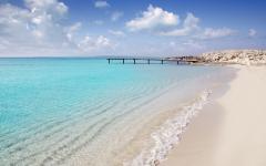spain formentera beautiful water and beach
