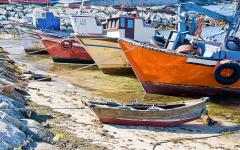 spain galicia riasbaixas fishingboats