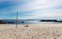 spain galicia riasbaixas beautiful beach