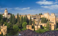 spain granada the alhambra