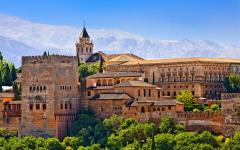 The Alhambra Palace in Granada.