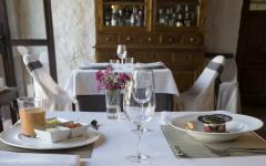 Dinner for two at Hotel Cortijo del Marques. Photo: Courtesy Hotel Cortijo del Marques
