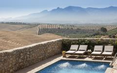 View of the countryside from the pool. Photo: Courtesy Hotel Cortijo del Marqués