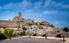 spain ibiza medieval fortress