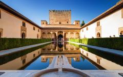 Generalife in Granada, Spain.