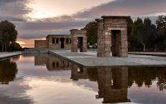 spain madrid tour temple of debod