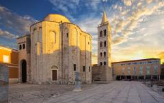 St Donatus church in Zadar, Croatia.