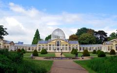 View of the Great Conservatory at Syon House, Hounslow London. Photo by Penny Hamer