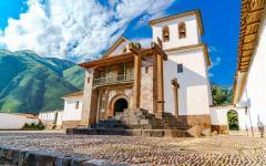 A Baroque Church in Cusco.
