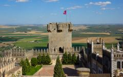 Towers of Castillo de Almodóvar del Río, Córdoba