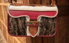 A traditional Jerico handbag.