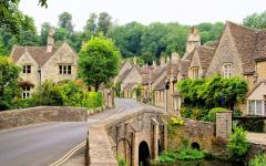 Village in The Cotswolds.