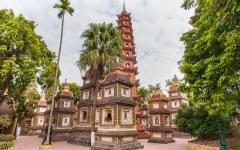 Tran Quoc Pagoda in Hanoi.