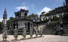 Thien Dinh Palace in Hue.