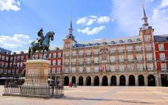 spain madrid plaza mayor