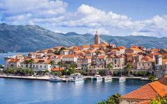 Korčula island in Croatia.