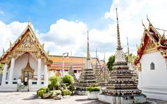 Wat Po Temple in Bangkok.