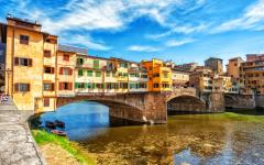 Ponte Vecchio in Florence.