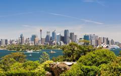 Australia Sydney Panorama Skyline