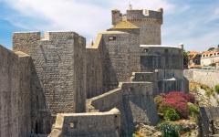 Fort Lovrijenac is a fortress in Dubrovnik that dates back to the 11th Century.