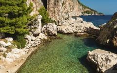 Shvar beach, Croatia.