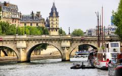Views of classic Parisian architecture.
