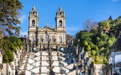 portugal braga jesus de monte monastery