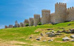 spain avila ancient castle