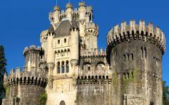 spain basque tour castle of butron