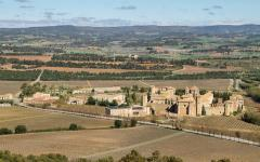 spain monastery of poblet