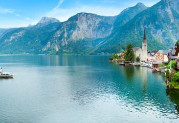 The charming village of Hallstatt.