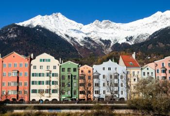 Innsbruck is one of the most popular destinations in the Austrian Alps.