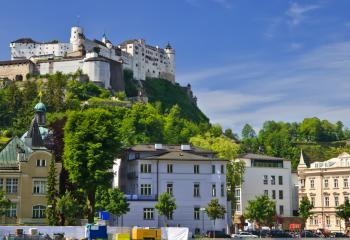 "Hohensalzburg literally means, ""High Salzburg Fortress."""
