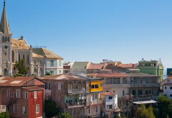 Valparaiso is one of Chile's largest cities and more important seaports.