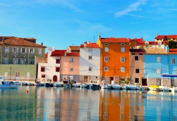 The old town of Novigrad in Croatia.