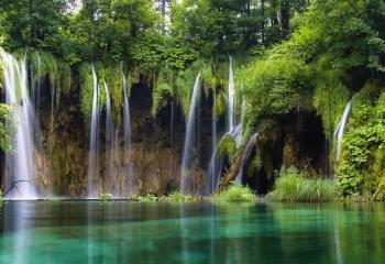 Plitvice Lakes National Park was among one of the first natural attractions deemed an UNESCO World Heritage site.