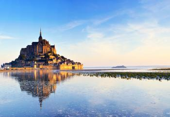 Mont Saint-Michel is one of France's most visited attractions.