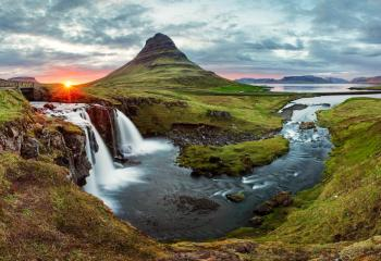 One of Iceland's many beautiful landscapes.