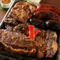 Traditional parilla, Argentinian barbecue.
