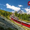 Railway in Switzerland.
