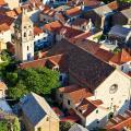 Aerial view of Split.