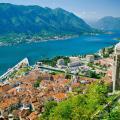 Panorama of Montenegro.