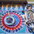 Astronomical clock on the medieval Zytglogge clock tower. Bern, Switzerland