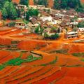 The incomparable Red Lands in Dongchuan