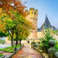 Alcazar of Segovia, Spain.