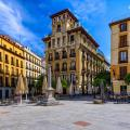 spain madrid old town square