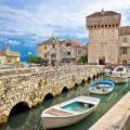 Kastel Gomilica historic island near Split, Dalmatia.