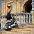 A flamenco dancer in Sevilla.