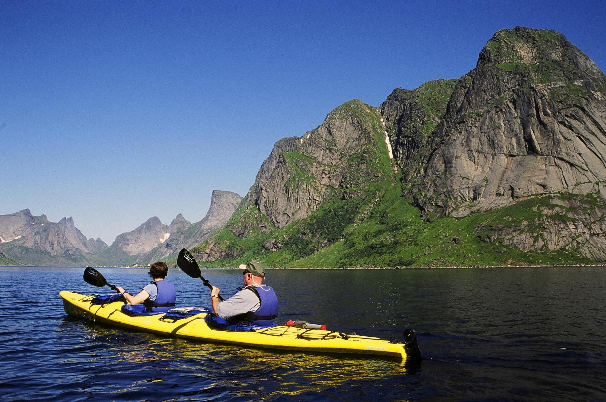 Lofoten Islands Classic Sea Kayak Expedition Zicasso