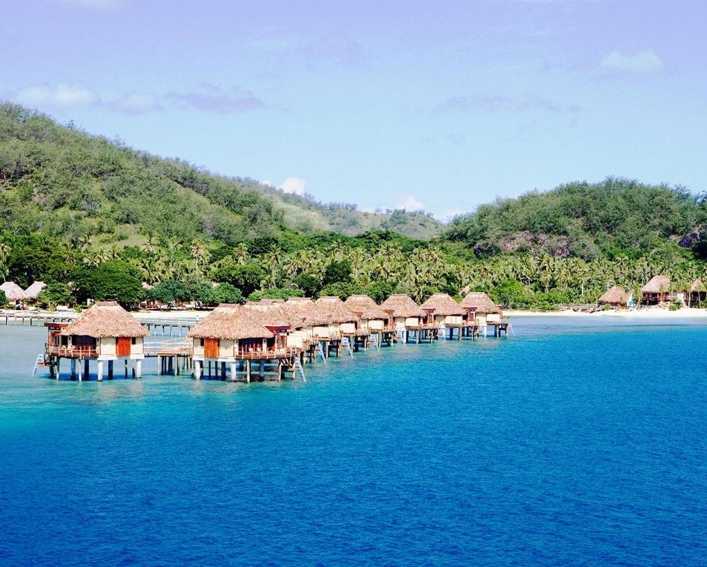Luxury fiji tours private vacation packages fiji Overwater bungalows fiji